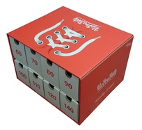 Box na tkaničky červený - zápůjčka