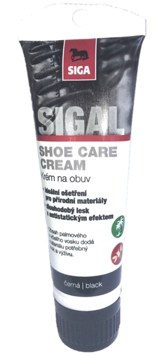 SIGAL Krém na obuv tuba s aplikátorem 75 ml NO. 3
