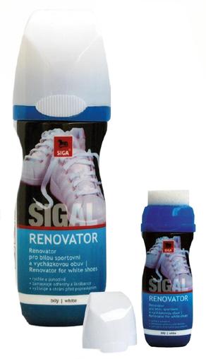 SIGAL Renovátor na bílou obuv 75 ml NO. 12