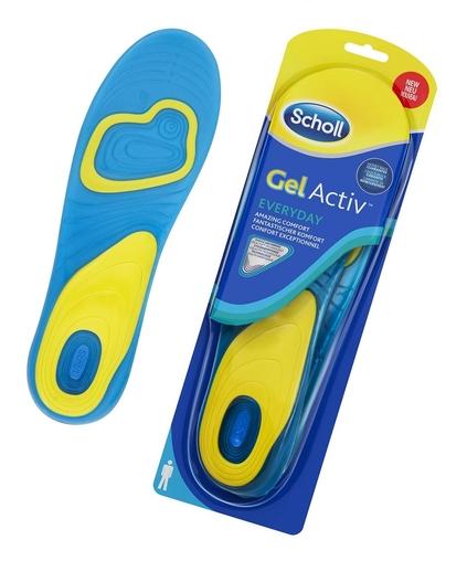 SCHOLL Gelové vložky do bot GelActiv Everyday