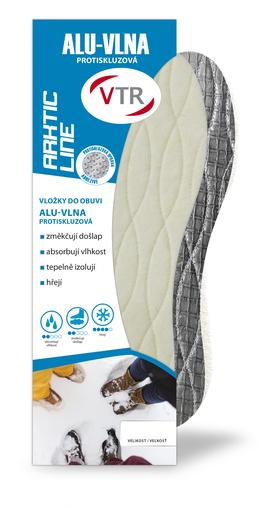 VTR Vložky do bot ALU-Vlna protiskluzové
