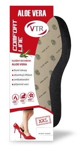 VTR Vložky do bot Aloe Vera XXL 47-52