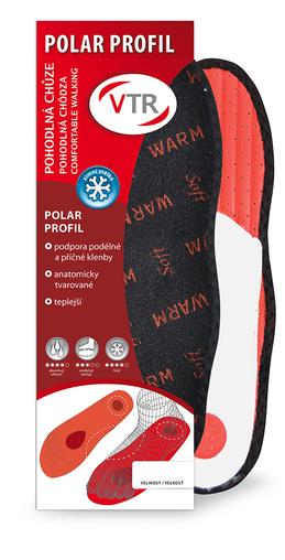 VTR Polar profil anatomické zimní vložky