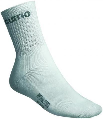 Ponožky Gultio art. 13 - polofroté standard bílé