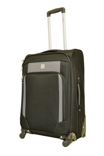 BZ 4178 - 1 kufr na kolečkách (troll) 70 cm black-grey