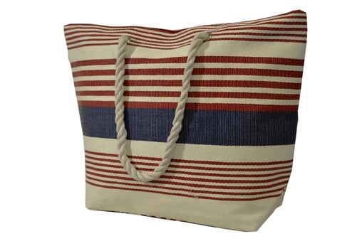 BZ 4898 plážová taška blue-red