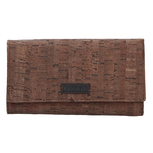 Dámská peněženka LAGEN 50177 hnědá BRN