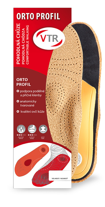 87d6bffbef20 VTR Orto profil anatomické kožené vložky